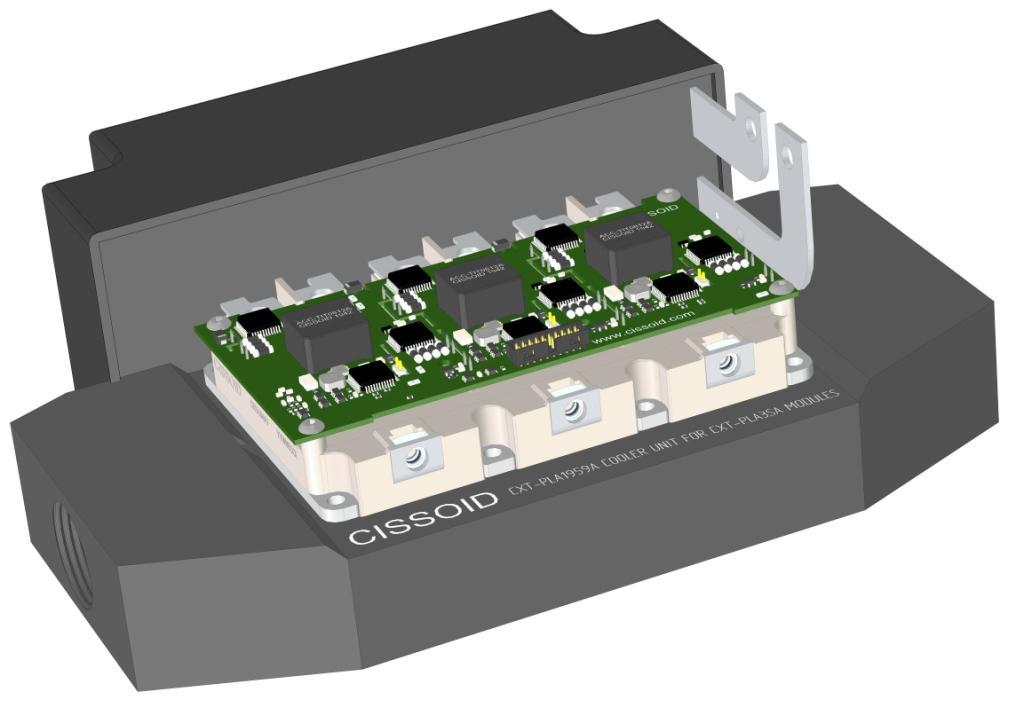 Cissoid Sic Power Modules